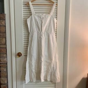 American Eagle, NWT, Large, ivory lace/cotton